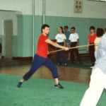 Cina 1988 - Allenamento Bastone