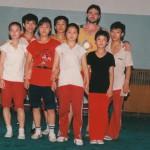 Cina 1988 - Atleti dell'Istituto di Pechino