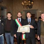 """Conferimento Onorificenza """"Leone d'Oro"""" dal Sindaco di Rovato (2009)"""