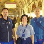 Lo Staff Tecnico Nazionale al Gran Bazar di Istanbul