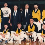 Squadra KSC con Franco Franchi (1989)