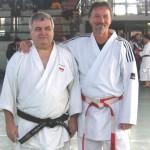 Con il vecchio amico Giuseppe Beghetto (Commissario Tecnico Fijlkam Lombardia)