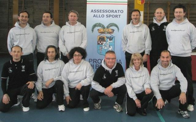 Staff Tecnico KG al corso di Autodifesa a Chiari (2012)