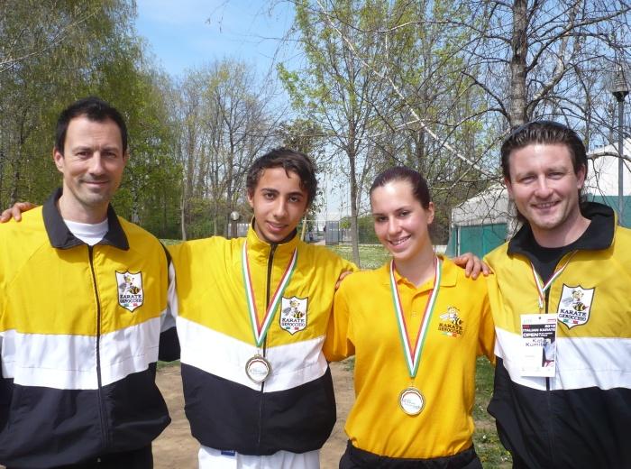 Tamara Medaglia d'Oro Rabii 3° classificato
