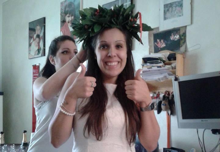 (14 ottobre 2014) Valentina neo Laureata in Scienze Motorie... complimenti!