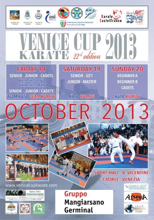Locandina Venice Cup 2013