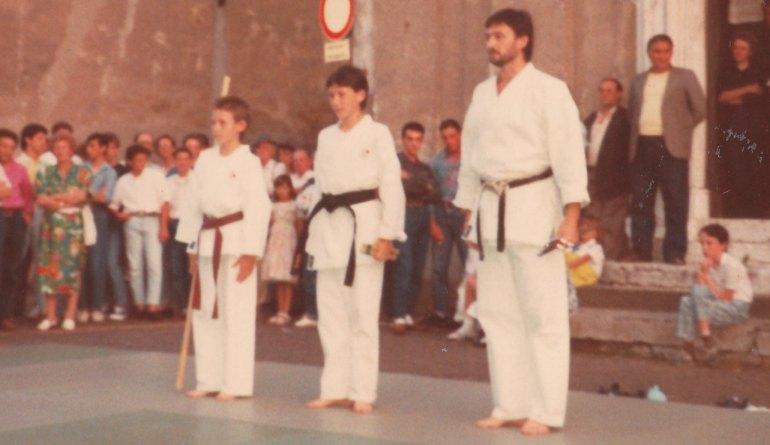 Esibizione Castrezzato 1987 -