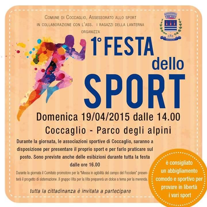 Festa Sportivo Coccaglio 2015