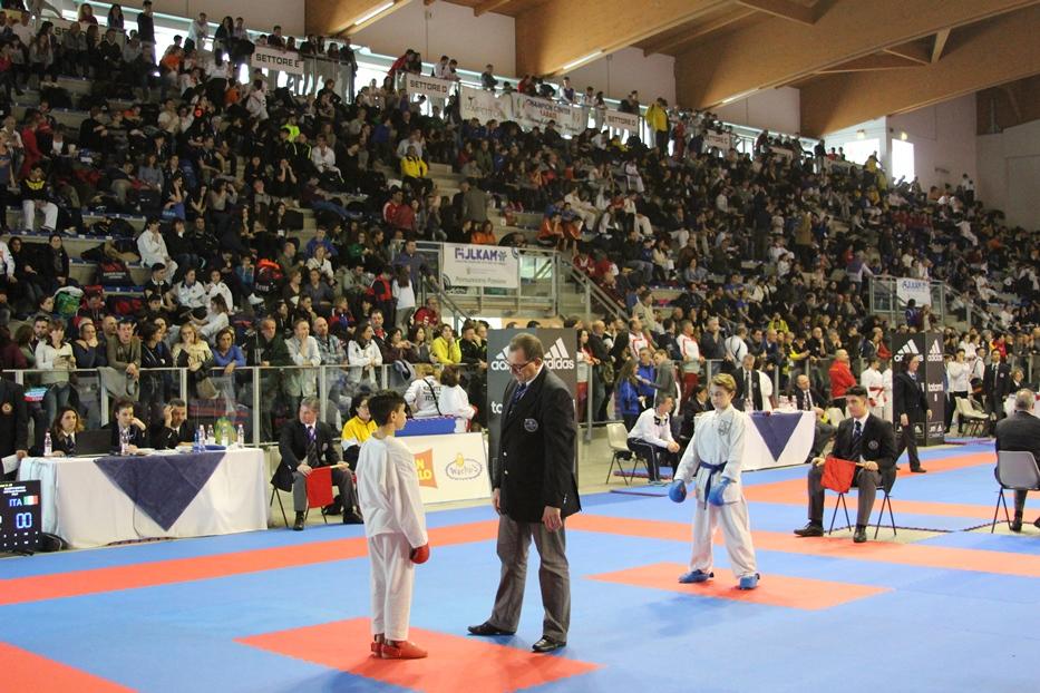 adidas open italia karate