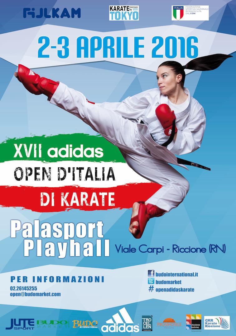 Manifesto Open 17° Karate